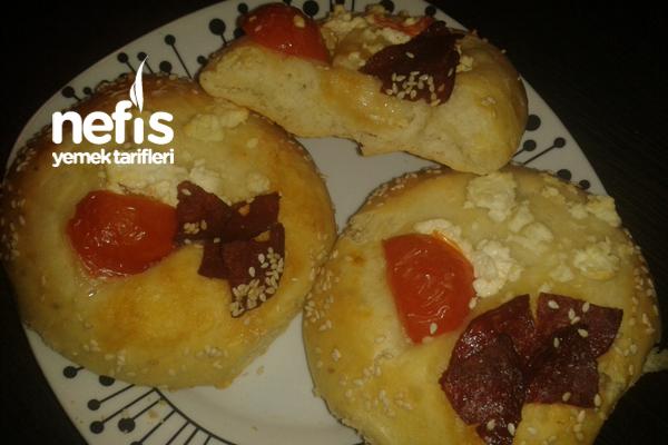 Peynir Suyu İle Yumuşacık Poğaça (Sandviç Ekmeği) 3