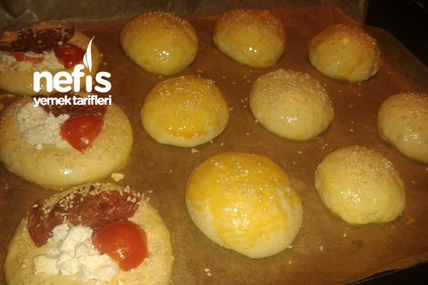 Peynir Suyu İle Yumuşacık Poğaça (Sandviç Ekmeği) 4