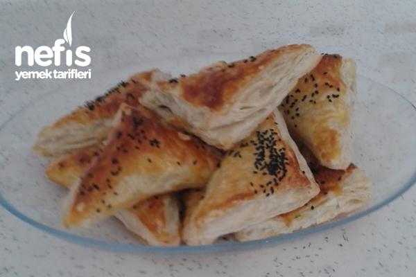 Peynirli Milföy Börek Yapımı Tarifi
