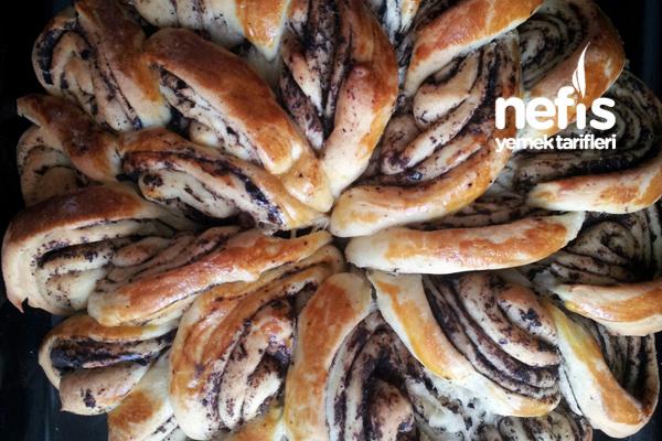 Zeytin Ezmeli Değişik Çörek Tarifi