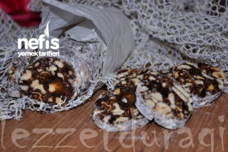 Çikolatalı Kuruyemişli Salam Tarifi
