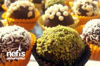 Çikolatalı Nefis Truffe Yapımı Tarifi
