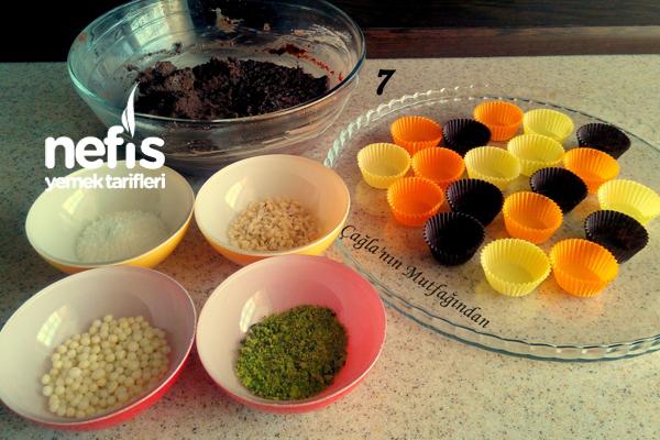Çikolatalı Nefis Truffe Yapımı 2