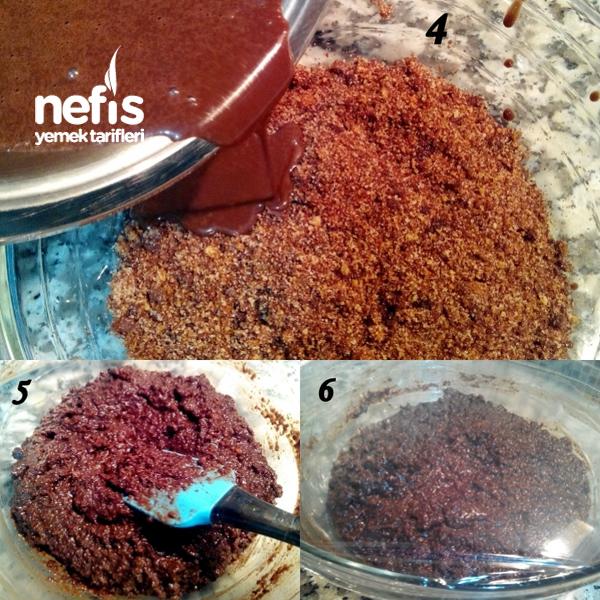 Çikolatalı Nefis Truffe Yapımı 5