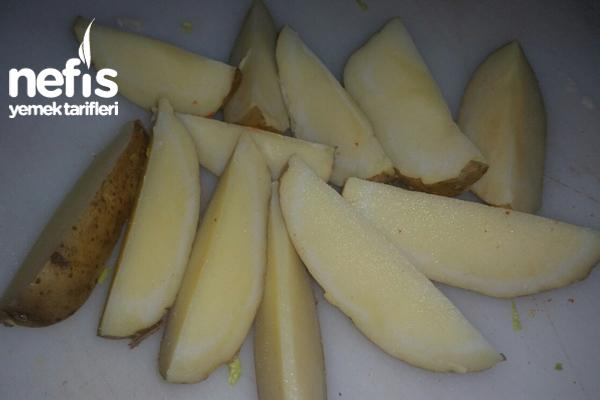Soslu Elma Dilim Patates