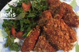 Mısır Gevrekli Çıtır Tavuk Tarifi