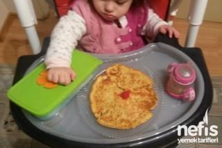 Peynir Sevmeyen Bebek Ve Çocuklara Kahvaltılık Krep Tarifi
