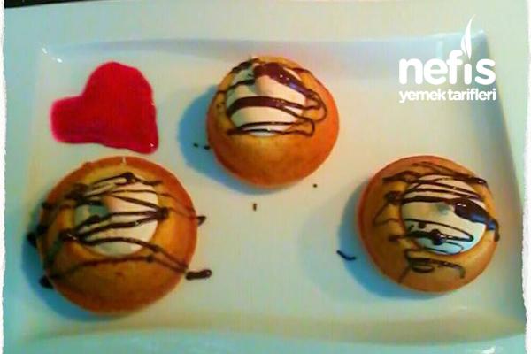 Merengli Cupcake (Limon Ve Tutti Fruttili) Tarifi
