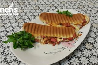 Sandviç Ekmeğinde Karışık Tost Tarifi