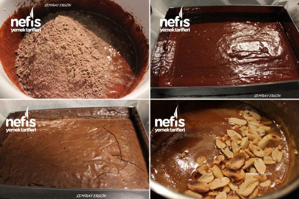 Yer Fıstıklı Karamelli Brownie 1