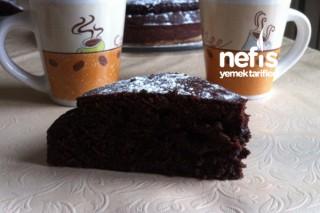 Türk Kahveli Çikolatalı Sünger Kek (Tam Ölçü) Tarifi