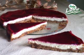 Frambuazlı Kolay Cheesecake 5