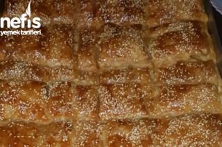Mantarlı Milföylü Börek Tarifi
