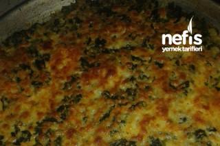 Fırında Peynirli Ispanak Tarifi