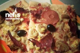 Kıtır Pizza Tarifi