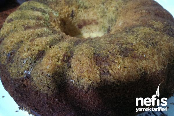 Antep Fıstığı Ve Hindistan Cevizi Mantolu Kek Tarifi