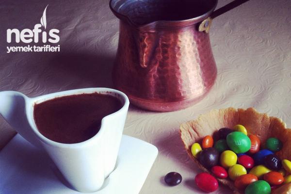 Çikolatalı (Nutellalı) Türk Kahvesi Tarifi