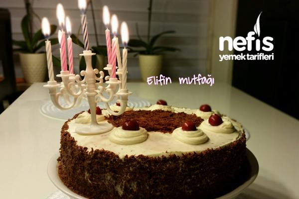 Doğum Günü Pastam (Vişneli)