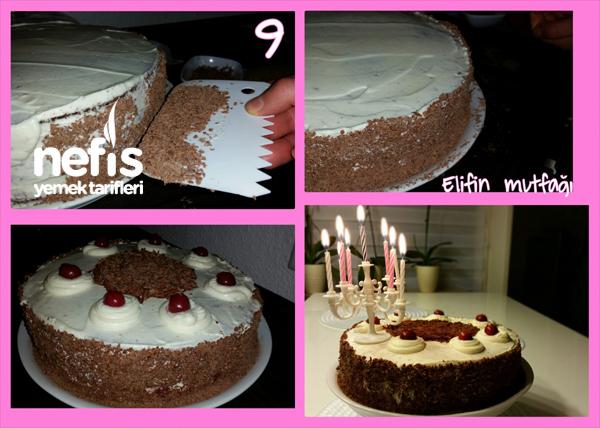 Doğum Günü Pastam (Vişneli) 10