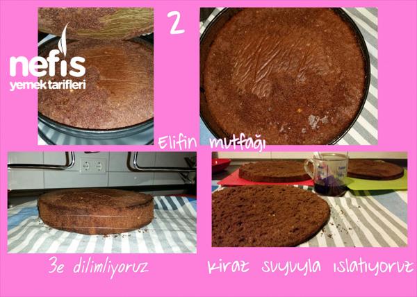 Doğum Günü Pastam (Vişneli) 3