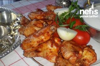 Fırında Soslu Tavuk Kanat Tarifi