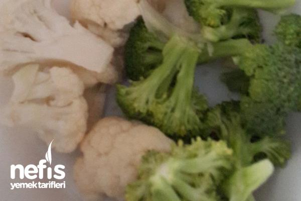 Diyette Olanlar İçin Brokoli Ve Karnabahar Yoğurtlaması