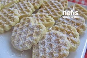 Waffle Kurabiye (Tost Makinesinde) Tarifi