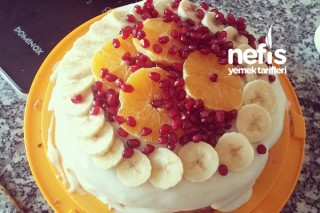Kolay Meyveli Pasta Tarifi