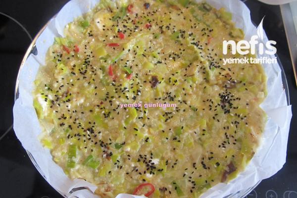 Pırasalı Kek (börek) 7