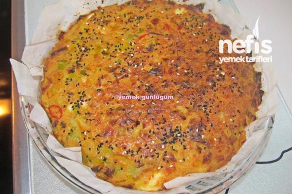 Pırasalı Kek (börek) 8