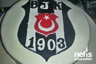 Beşiktaş Amblemli Pastam Tarifi