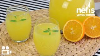 1 Portakal 1 Limon ile Limonata Tarifi