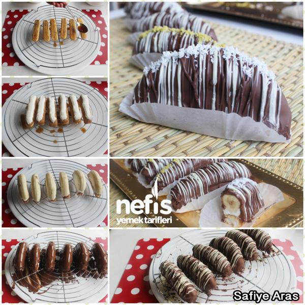Muzlu Çikolatalı Ekler ( Malaga ) Tarifi 2