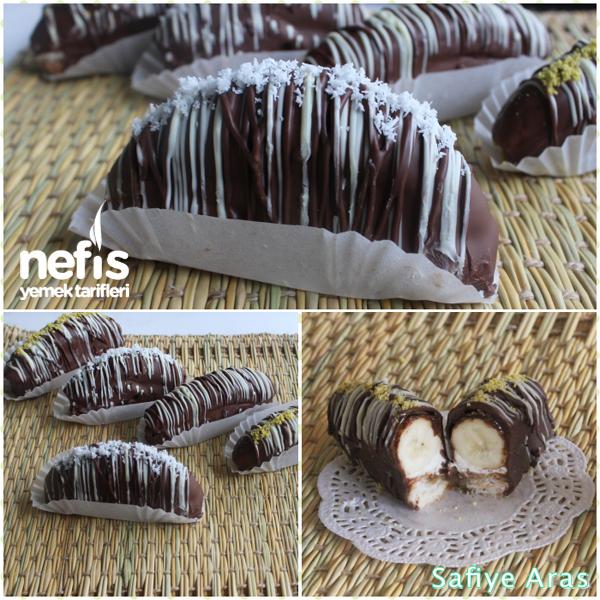 Muzlu Çikolatalı Ekler ( Malaga ) Tarifi 3