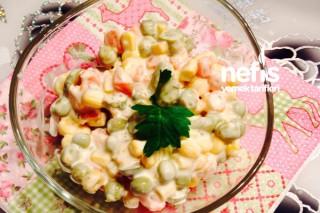 Sauce Tartarlı Rus Salatası Tarifi
