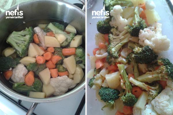 Brokoli Ve Lezzet Birleşimi