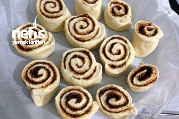 Tarçınlı Rulolar (Cinnamon Rolls) 5