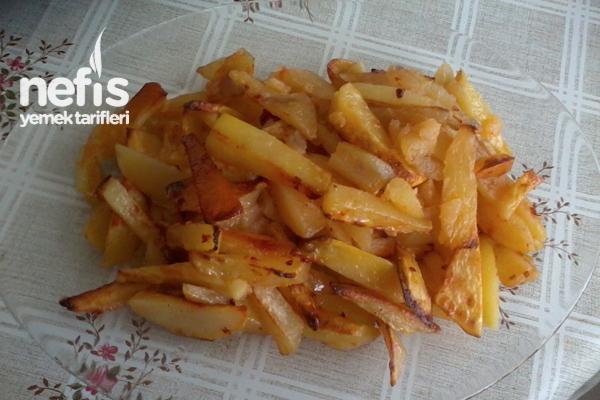 Fırında Az Yağlı Sağlıklı Patates Tarifi