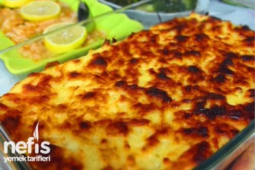 Fırında Patates Püresi Tarifi Videosu 19