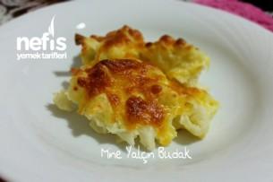 Fırında Peynirli Karnabahar Tarifi