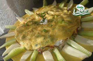 Labneli Omlet Pastası Tarifi