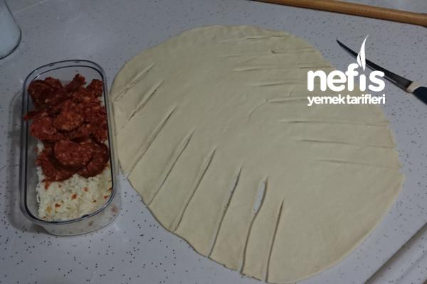 Balık Sırtı Çörek (Saç Örgüsü Çörek) 1