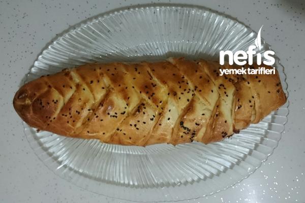 Balık Sırtı Çörek (Saç Örgüsü Çörek) Tarifi