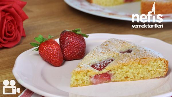 Çilekli Kek Nasıl Yapılır?