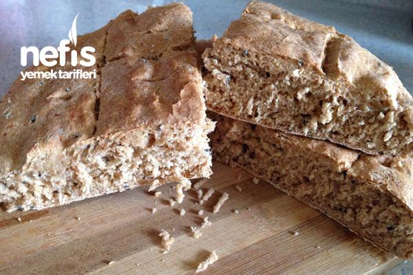 Çörekotlu Tam Buğday Unundan Ekmek