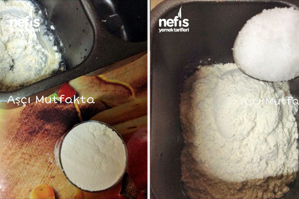 Ekmek Yapma Tarifi ( Makinede )
