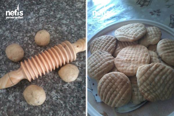 Tahinli Mahlepli Çörek (Maraş Çöreği) 1