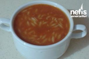 Arpacıklı Domates Çorbası Tarifi