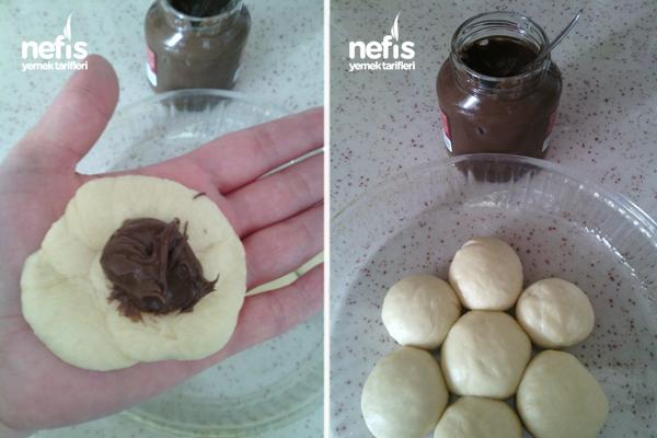 Çikolatalı Lokma Çörek 3