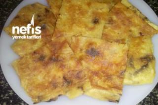 Ev Ekmeğinden Tavada Börek Tarifi